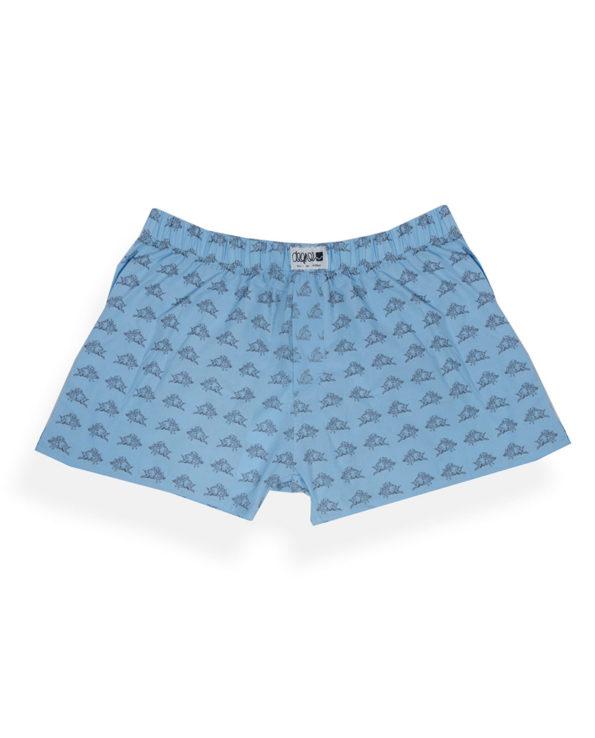 Boxershorts bio, blau