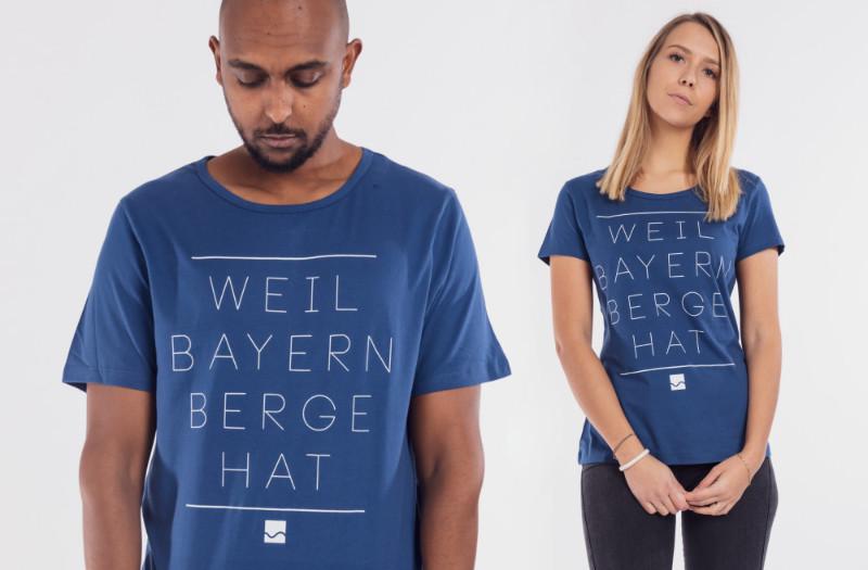 Bayern Berge T-Shirt